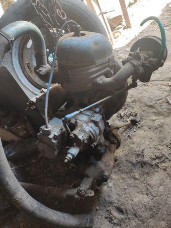 Двигатель ПД 8М пускач