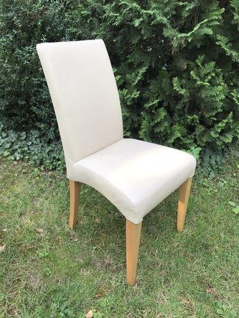 TANIO komplet skórzanych krzeseł Com40, skóra, skórzane krzesło -6 szt