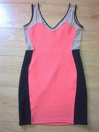 Sukienka Seksi R 34/36 materiał się rozciąga.