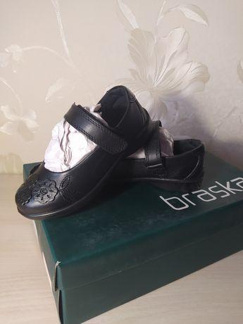Туфли лодочки балетки, кожа, braska 28р, 16 см