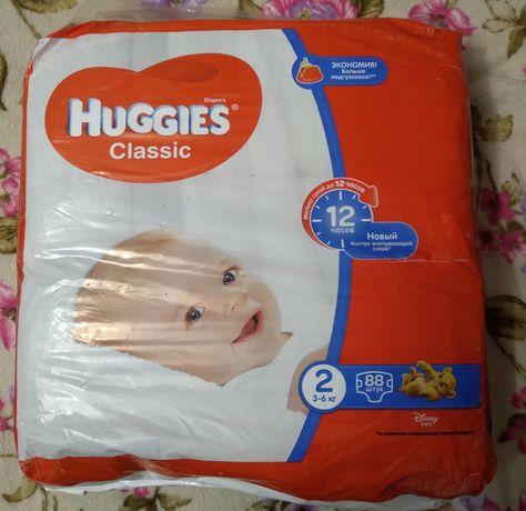 Памперси Huggies Classic 2