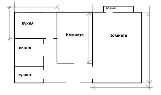 Квартира, 2к. Лохвиця, центр.
