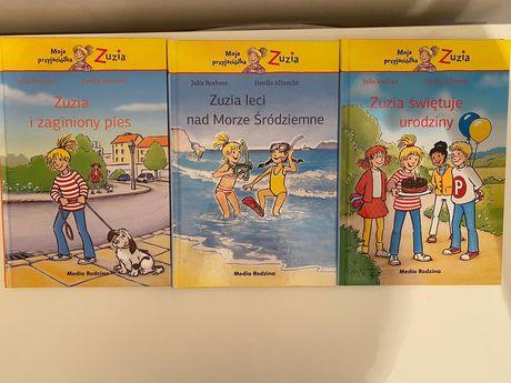 Książeczki z serii Zuzia dla starszych