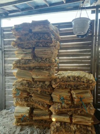 Drewno rozpalkowe workowane PROMOCJA