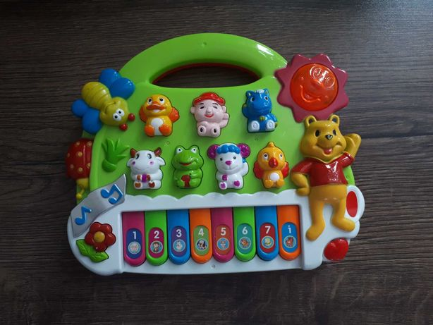 Organki dziecięce z dźwiękami zwięrząt i muzyką