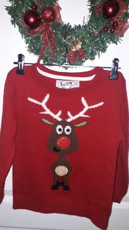 Новогодний свитер на мальчика.