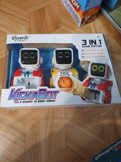 Kickabot roboty sterowane