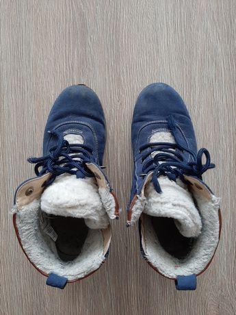 Buty zamszowe dziewczęce rozm 36