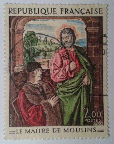 Znaczki pocztowe (skasowane) - MALARSTWO - Belgia, Francja