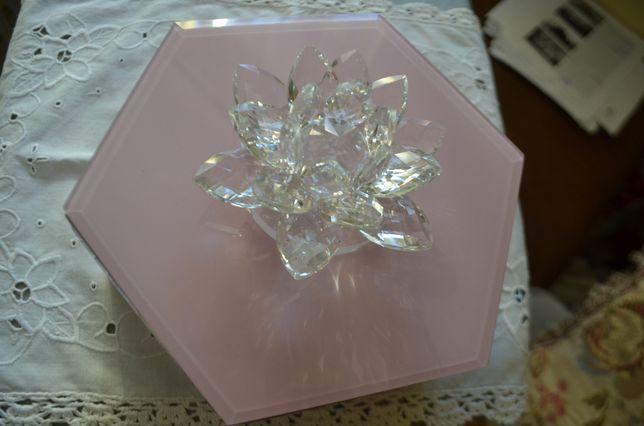puzdro kaseta pojemnik kryształ szkło Julien Macdonald