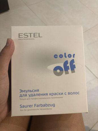 Estel color off  эмульсия для удаления цвета