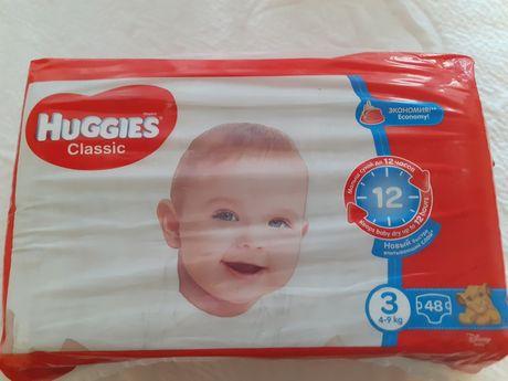 Подгузники Huggies Classic 3, 44 шт