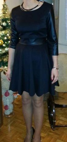Elegancka sukienka damska r.S czarna