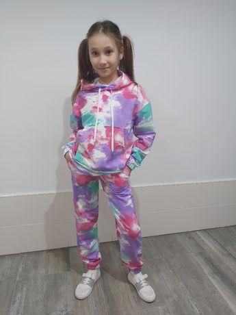 Детские спортивные костюмы для девочек (128-158) Опт и розницу