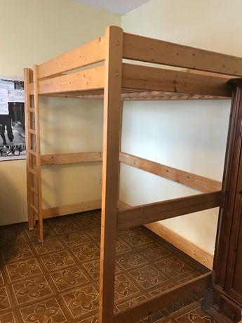 Łóżko drewniane piętrowe stan idealny