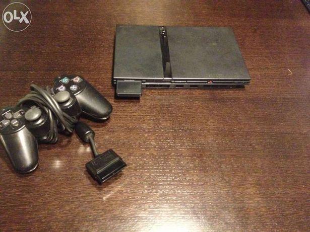 Playstation 2 slim + jogos+cartão de memoria