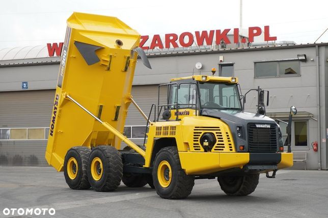Komatsu HM 300-2 , 6x6 , ładowność 27t / 17m3 , hydropneumatyka , ROPS , klima , Powershift , wozidło przegubowe , wozidło budowlane , dumper truck