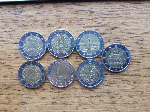 Moedas de 2 euros comemorativas