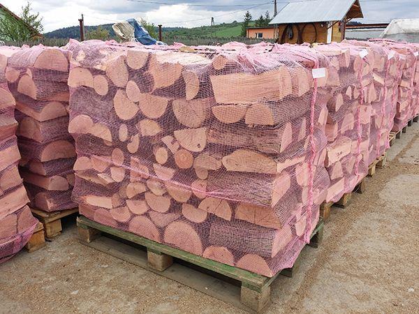 Worek worki siatkowe na drewno na paletę EURO 120x80 1000L 1mp 1m3