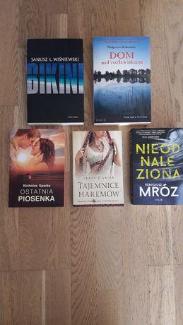 Książki różne stan bdb.- ciekawe tytuły od 10 zł/szt.