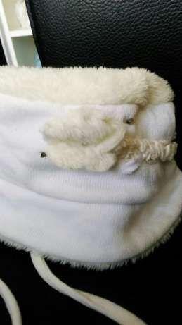 Зимняя шапочка 0-6 месяцев шапка