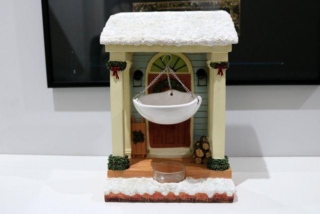 Kominek Yankee Candle świąteczne drzwi