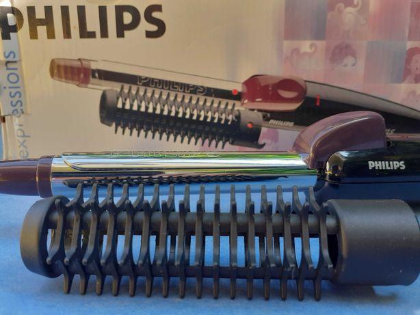 Lokówka+szczotka, combi styler, Philips expressions, HP 4607