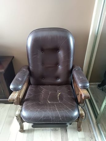 fotel rozkladany
