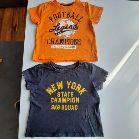 Koszulki tshirt r.98 zestaw