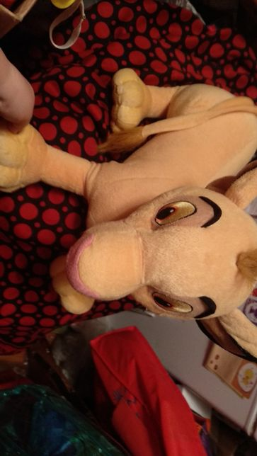мягкая игрушка симба лев львенок большая король лев дисней КРУТОЙ