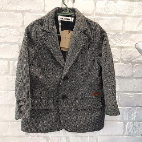 Кардиган пиджак оригинал Ben Sherman 4-5лет