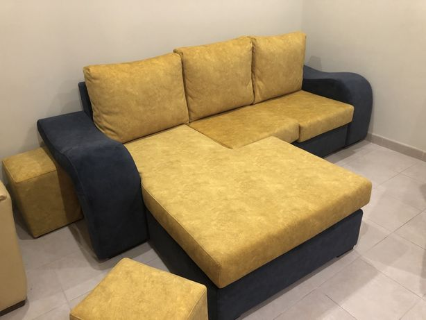 Sofa cheselong reversivel