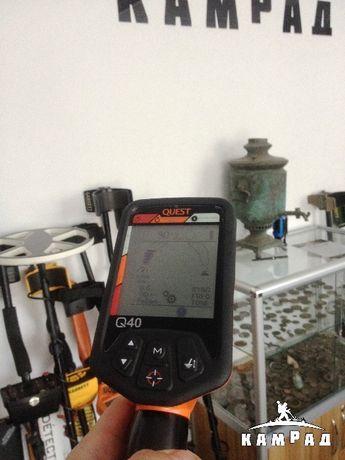 Металошукач, Quest 40, металлоискатель. металлодетектор