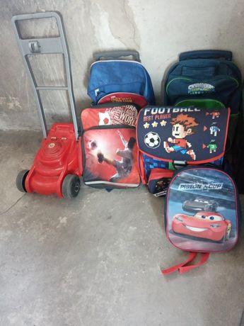 Plecaki szkolne różne wymiary
