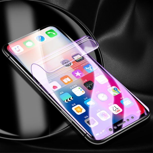 IPHONE 6 7 8 plus + HYDROGEL folia hybryda ochrona ekran wyświetlacz L