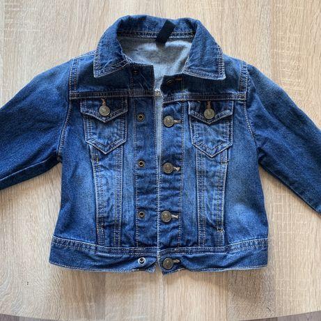 Джинсовая куртка (джинсовка) на мальчика