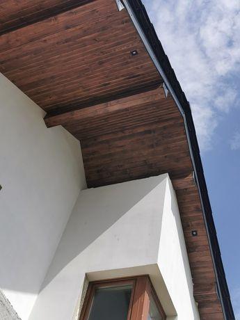 Montaż podbitki elewacje drewniane boazeria okuwanie dachów