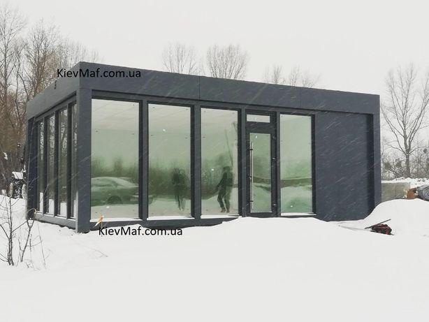 Изготовление торговых ,офисных павильонов МАФ. Модульные конструкции.