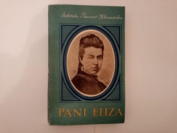 Pani Eliza G. Pauszer- Klonowska