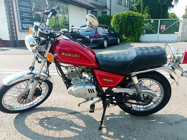 Suzuki Gn125 ładny stan, kat.B, Retro ,WSK,Junak,MZ, klasyk gatunku.