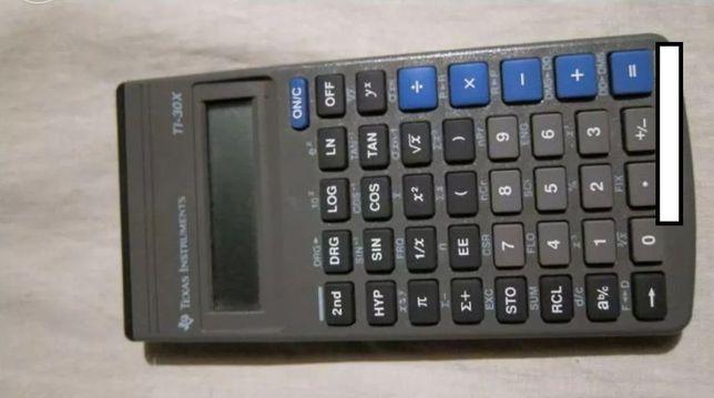 Calculadora texas t i30x