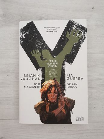 Y The Last Man 2 Deluxe Hardcover (Capa Dura) Brian K. Vaughan