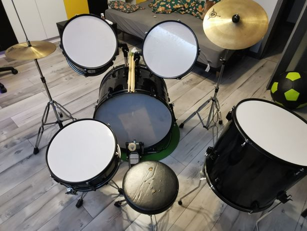 Perkusja czarna 8 elementów