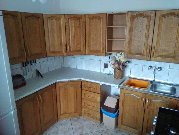 Drewniane, dębowe fronty kuchenne