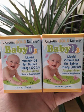 Д3 витамин Д Vitamin D3 детский витамин Д3