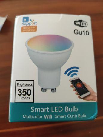 Lâmpada Inteligente GU10 Smart RGB eWelink Alexa Google Home Domótica