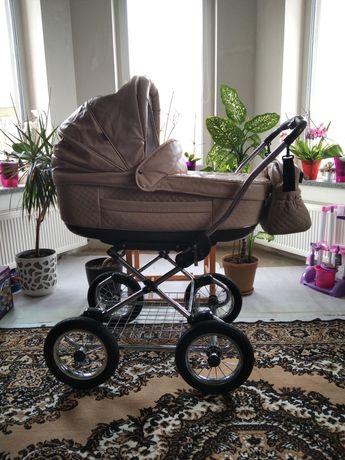 Дитяча коляска 2в1 Roan Marita еко шкіра