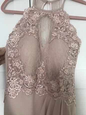 Śliczna sukienka na wesele formy Lipsy 8 nowa