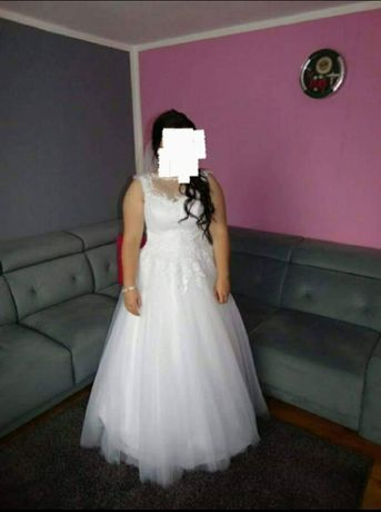 Suknia ślubna 42-46