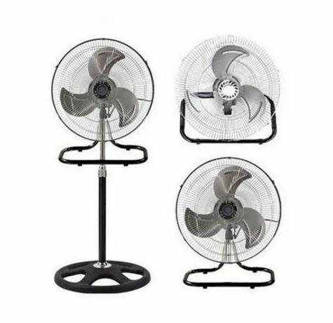 Вентилятор Smart 2в1 напольный + настольный 50см металлические лопасти